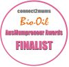 Ausmumpreneur award finalist badge
